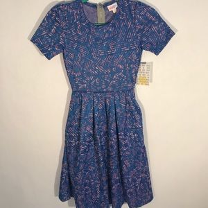 Lularoe Amelia dress  (pocket pleated dress)